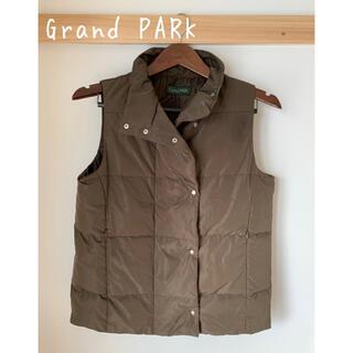 Grand Park グランドパーク ダウンベスト カーキレディース アウター
