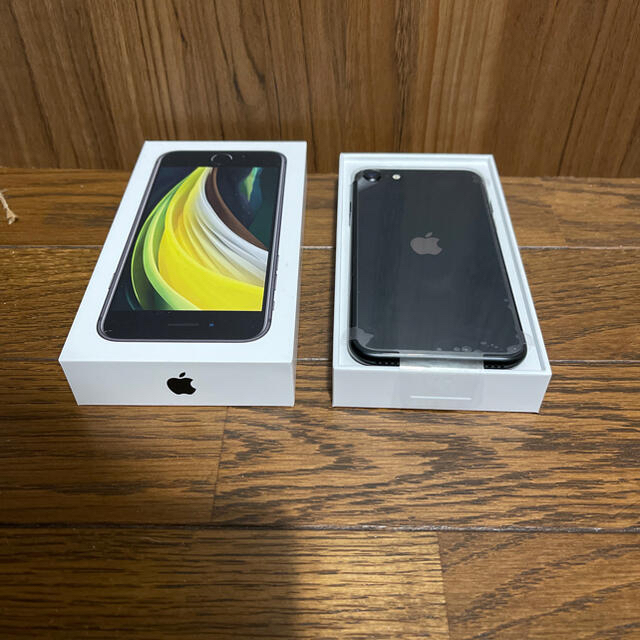 iPhone(アイフォーン)のiPhone SE 2 ブラック 64GB SIMフリー 新品未使用② スマホ/家電/カメラのスマートフォン/携帯電話(スマートフォン本体)の商品写真