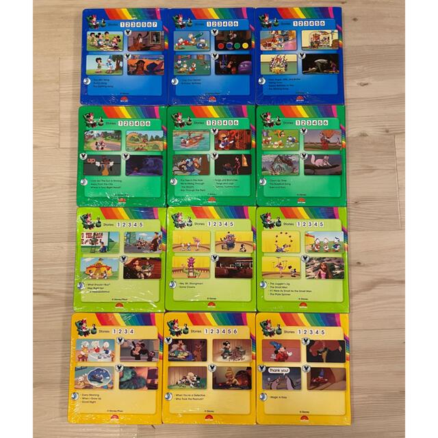 Disney(ディズニー)のディズニー英語システム ストレートプレイ 最新版 超美品 エンタメ/ホビーのDVD/ブルーレイ(キッズ/ファミリー)の商品写真