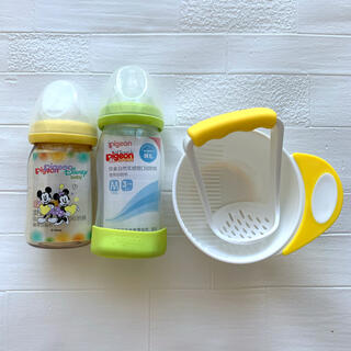 Pigeon - 新品 ピジョン母乳実感 哺乳瓶 160ml 240ml 離乳食調理セット