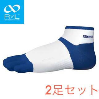 シースリーフィット(C3fit)のR×L アールエル ソックス 靴下 ランニングソックス 5本指ソックス 5(ウェア)