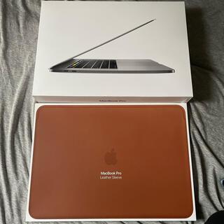 Apple - 美品 MacBook Pro 15インチ i7 16G/256G 充放電36回