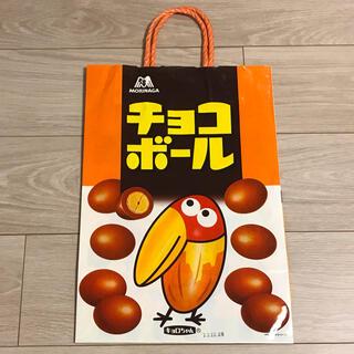 モリナガセイカ(森永製菓)の森永 チョコボール ショップ袋 紙袋(キャラクターグッズ)