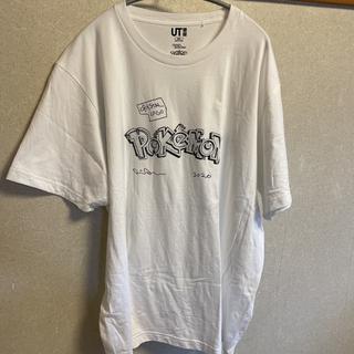 ユニクロ(UNIQLO)のダニエルアーシャム × ポケモン ロゴ ピカチュウ ユニクロ UT Tシャツ(Tシャツ/カットソー(半袖/袖なし))