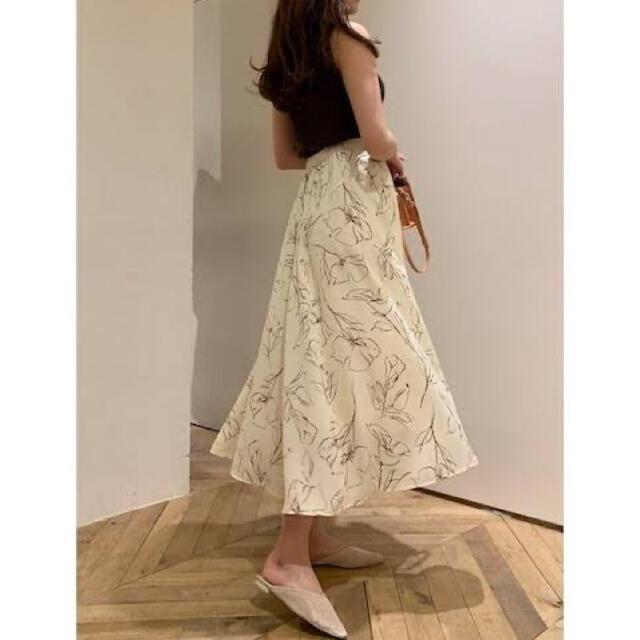 snidel(スナイデル)のSNIDEL スナイデル ミディマーメイドスカート レディースのスカート(ロングスカート)の商品写真