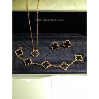 an -  Van Cleef &Arpels  ネックレス、ピアス、ブレスレッ3点セット