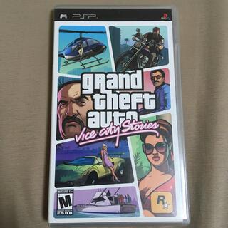 プレイステーションポータブル(PlayStation Portable)のgrand theft auto vice city stories(海外版)(携帯用ゲームソフト)