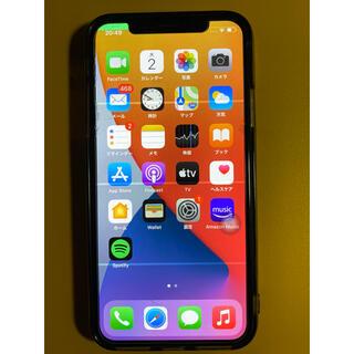 アイフォーン(iPhone)のiPhone X Silver 64 GB SIMフリー 本体のみ(スマートフォン本体)