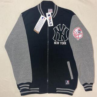 マジェスティック(Majestic)の【新品未使用】MLB ニューヨークヤンキース NY スタジャン スウェット XL(スタジャン)