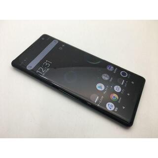 SONY - SIMフリー上美品au Xperia XZ3 SOV39 グリーン 423