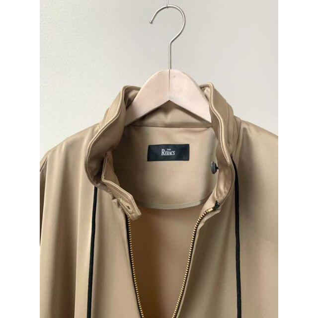 2020SS THE RERACS リラクス トリアセテート サテン コート レディースのジャケット/アウター(その他)の商品写真