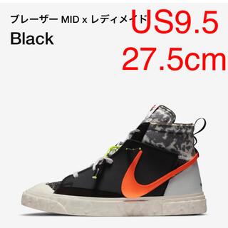 NIKE - 送込! US 9.5 NIKE readymade blazer mid 黒