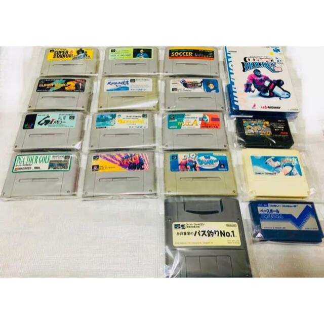 スーパーファミコン(スーパーファミコン)のファミリーコンピュータ SFC スーパーファミコンソフト 26セット価格 中古品 エンタメ/ホビーのゲームソフト/ゲーム機本体(家庭用ゲームソフト)の商品写真