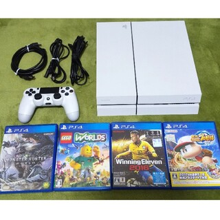 PlayStation4 - PS4 CUH-1200A ソフト4本セット