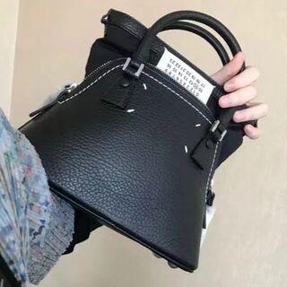 Maison Margielaブラック スモール 5AC バッグ