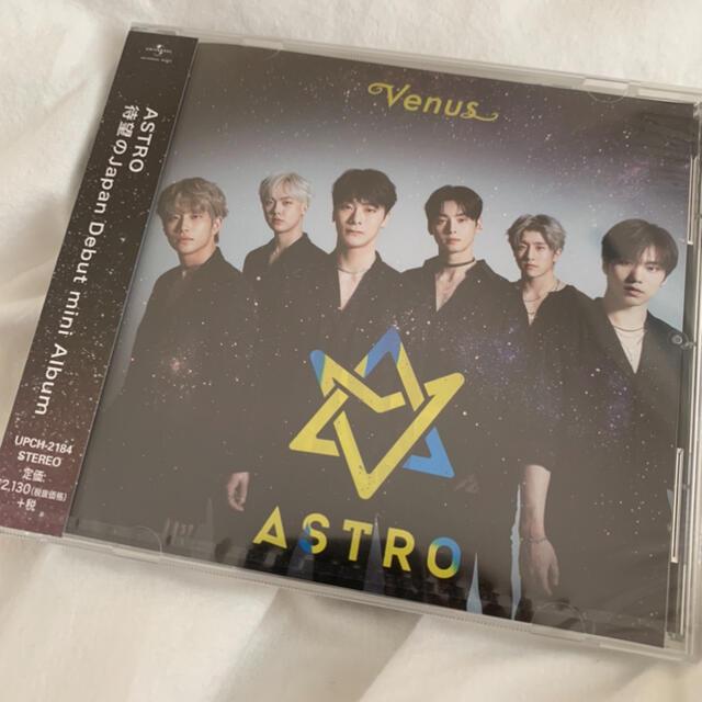 ASTRO VENUS 日本デビューシングル エンタメ/ホビーのCD(K-POP/アジア)の商品写真