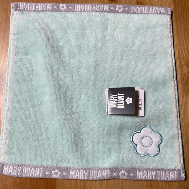 MARY QUANT(マリークワント)のマリークワントミニタオルハンカチ レディースのファッション小物(ハンカチ)の商品写真