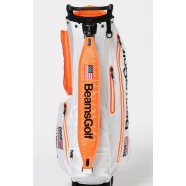 BEAMS(ビームス)のBEAMS GOLF / スペースカラー スタンド キャディバッグ スポーツ/アウトドアのゴルフ(バッグ)の商品写真