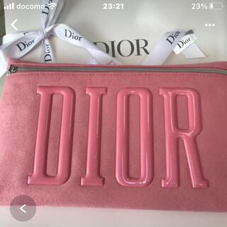 Dior - ディオール  クラッチポーチ ピンク