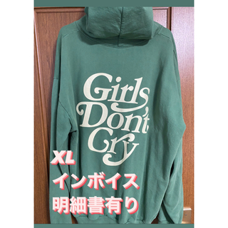 GDC - girl's don't cry パーカー  インボイス付
