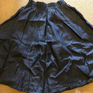コムサイズム(COMME CA ISM)のCOMME CA ISM デニムスカート(ひざ丈スカート)