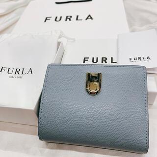 Furla - FURLA フルラ  新品 二つ折り財布 2020秋冬新作 水色