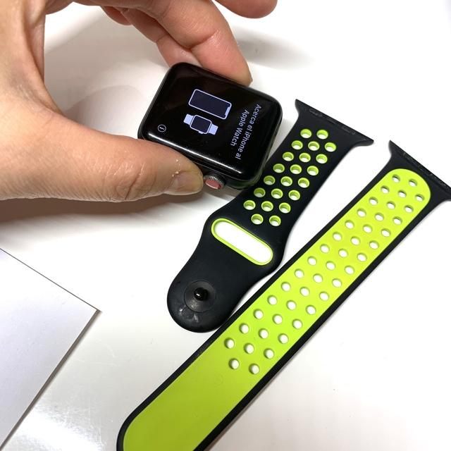Apple Watch(アップルウォッチ)のapple watch3  42mm(GPSモデル)値下げ不可 メンズの時計(腕時計(デジタル))の商品写真