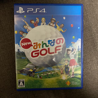 PlayStation4 - New みんなのGOLF PS4