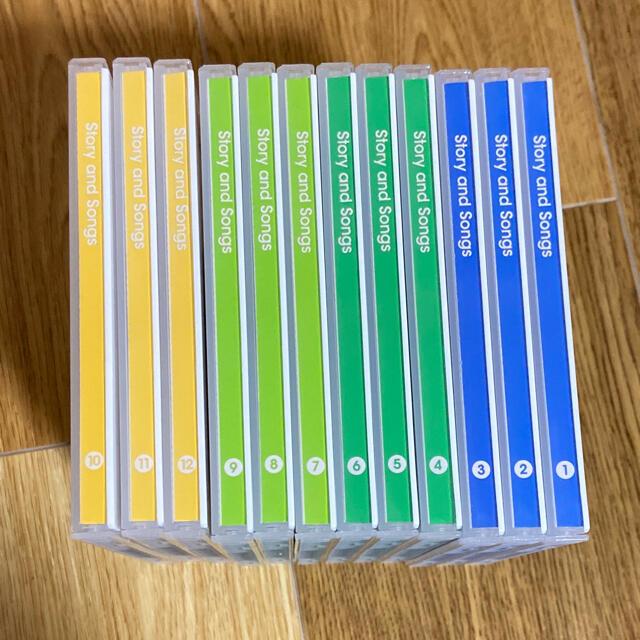 Disney(ディズニー)のディズニー英語システム*メインプログラムCD*最新版 キッズ/ベビー/マタニティのおもちゃ(知育玩具)の商品写真