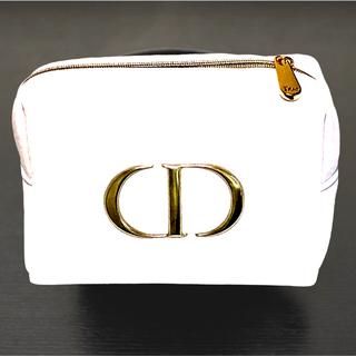 Dior - ディオール ホワイト ゴールド プレステージ ノベルティ ポーチ ノベルティー