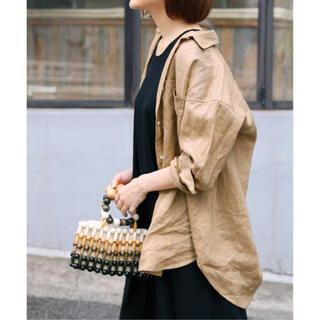 IENA - iena フレンチオーバーシャツ