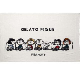 gelato pique - ジェラートピケ スヌーピー ブランケット ②