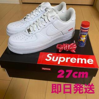 Supreme - Supreme×NIKE Air Force1 Low  White 27cm