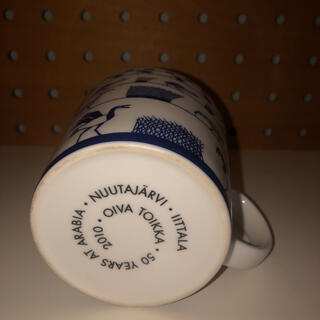 イッタラ(iittala)のオイバ 50周年 バードマグ ブルー マグカップ イッタラ(食器)