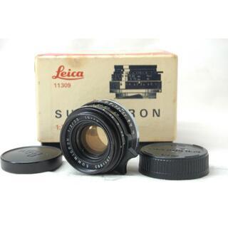 ライカ(LEICA)の美品 ライカ SUMMICRON 35mm F2 CANADA #815160(レンズ(単焦点))