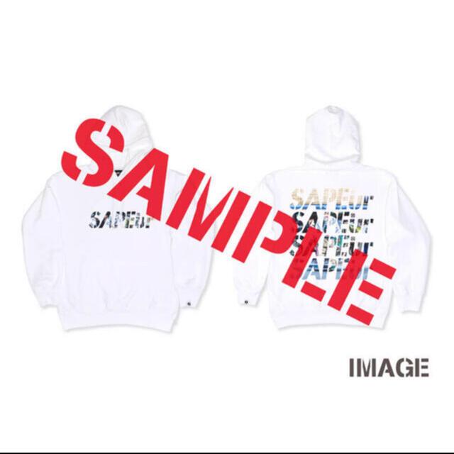 SAPEur PHOTOLOGO HOODIE + NECKSTRAP set メンズのトップス(パーカー)の商品写真
