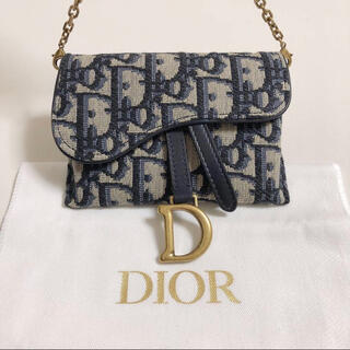 Christian Dior - Dior ディオール サドル ナノポーチ ショルダーバッグ ウエストバッグ