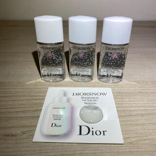 Dior - ◆ ディオール スノー ライト エッセンス ローションサンプル