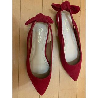 ココディール(COCO DEAL)のcocodealココディール 靴 Lサイズ 赤(その他)