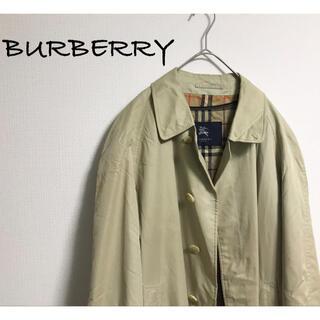 BURBERRY - 古着 BURBERRY バーバリー チェック ステンカラー ライナー コート
