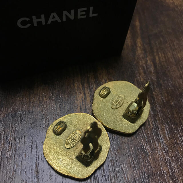 CHANEL(シャネル)のCHANEL シャネル ヴィンテージ イヤリング レディースのアクセサリー(イヤリング)の商品写真