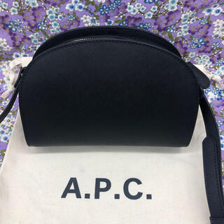 A.P.C - APC アーペーセー ハーフムーン ショルダーバッグ