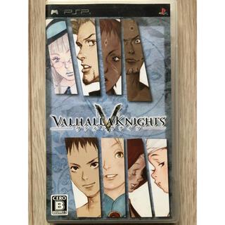 VALHALLA KNIGHTS -ヴァルハラナイツ- PSP 説明書なし(携帯用ゲームソフト)