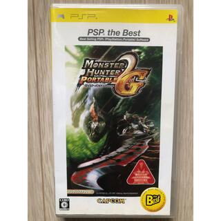 モンスターハンターポータブル 2nd G PSP 説明書なし(携帯用ゲームソフト)