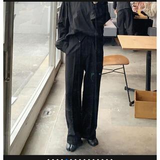 アクネ(ACNE)のok.soon♡ハイウエストウールライクスラックス(カジュアルパンツ)