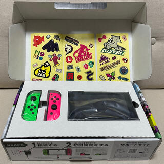 ニンテンドースイッチ(Nintendo Switch)のNintendo Switch スプラトゥーン2 同梱版 スイッチ本体(家庭用ゲーム機本体)