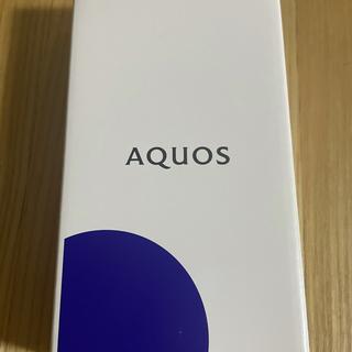 シャープ(SHARP)のAQUOS sense3 ベーシック SIMフリー 本日まで(スマートフォン本体)