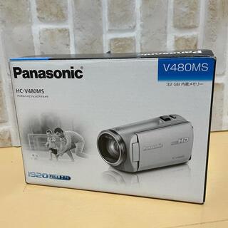 Panasonic - 【超美品】Panasonic ビデオカメラ V480MS