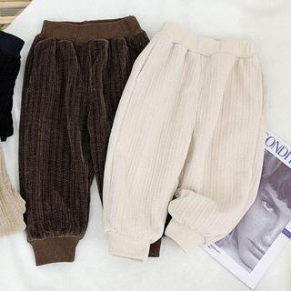 秋冬韓国服 ニット風スエットパンツ(パンツ/スパッツ)