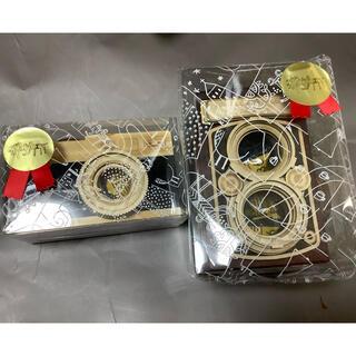 カルディ(KALDI)のレフレックスカメラ& 一眼レフカメラ 2種類(菓子/デザート)